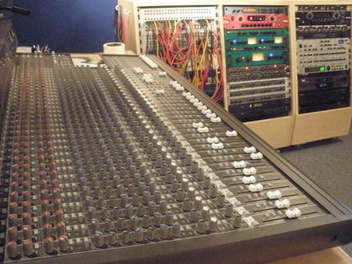 Western Star Recording Studio - Mixing Desk