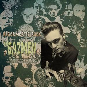 The Gazmen - Rigormortis Rock 10-Inch EP (Coloured Vinyl)