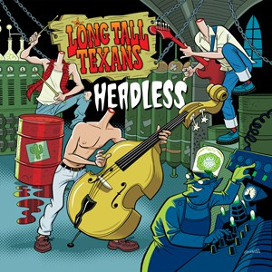 The Long Tall Texans - Headless 10-Inch Mini Album (Red Vinyl)