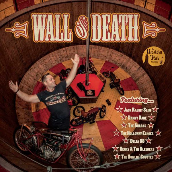Various Artists  - Wall Of Death 10-Inch Mini Album (Coloured Vinyl)