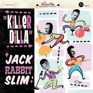 Jack Rabbit Slim - Killer Dilla 10-Inch Mini Album (Coloured Vinyl)