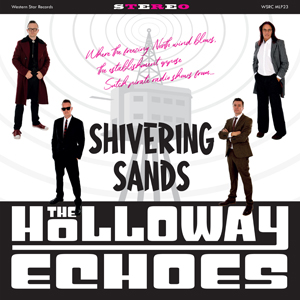 The Holloway Echoes - Shivering Sands 10-Inch Mini Album (Pink Vinyl)   2 x Signed Postcards