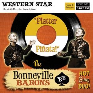 The Bonneville Barons - Platter Pinata