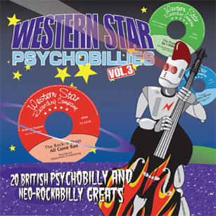 Various Artists  - Western Star Psychobillies Vol. 3