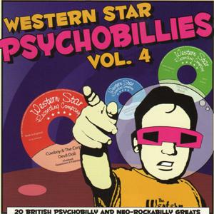 Various Artists  - Western Star Psychobillies Vol. 4