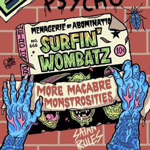 The Surfin' Wombatz - More Macabre Monstrosities